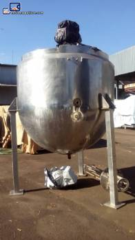 Tanque de cozinhamento de acero inoxidable con camisa de 3.000 L