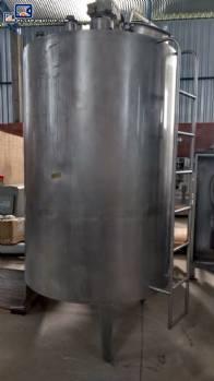 Tanque de acero inoxidable para 4.000 L Brasholanda