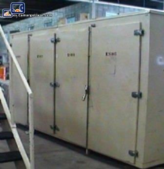 Efecto invernadero industrial 100 bandejas - J