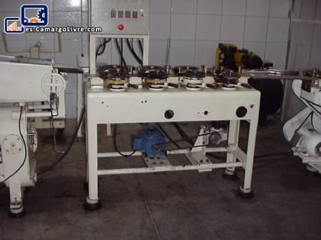 Línea completa para la fabricación de piruletas con ruina