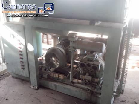 Compresor Sabroe para enfriador de amoníaco