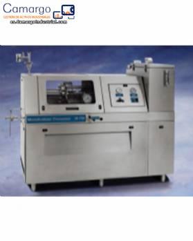 Molino homogenizador submicrónico Microfluidics