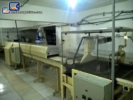 Máquina de cubierta de chocolate Baker Perkins