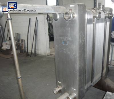 Intercambiador de calor de acero inoxidable Alfa Laval