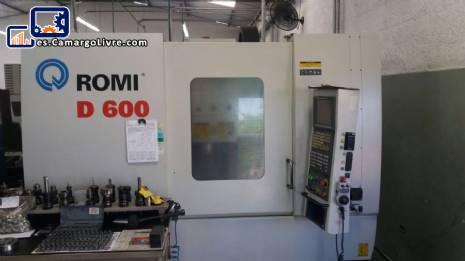 Centro de mecanizado Romi D 600