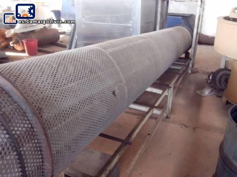 Mezclador de pulverización de alimentos rotativo