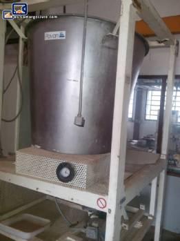 Tanque de almacenamiento de acero inoxidable Pavan