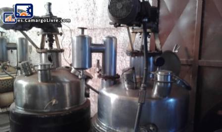 Reactor de presión de buller de acero inoxidable para 300 kg