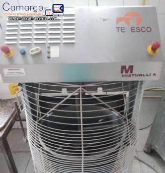 Mezclador con calefacción de gas 75 kg Misturella Tedesco