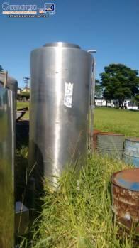 Depósitos de acero inoxidable 650 L