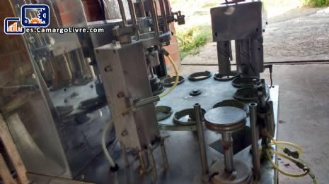 Máquina de llenado de vasos giratorios Milainox M 22