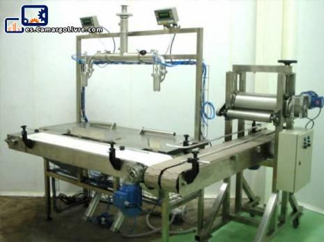 Máquina de envasado de productos líquidos y viscosos