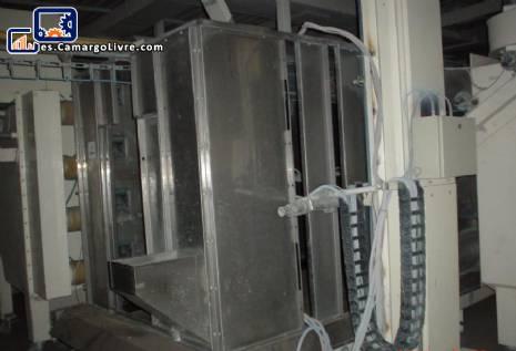 Spray booth polvo proyección con raspador automático MVH-Binks Sames